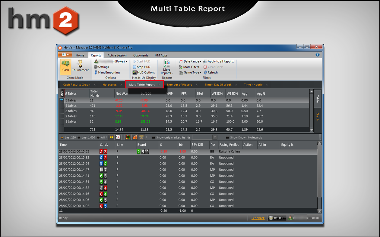 Holdem manager multi table