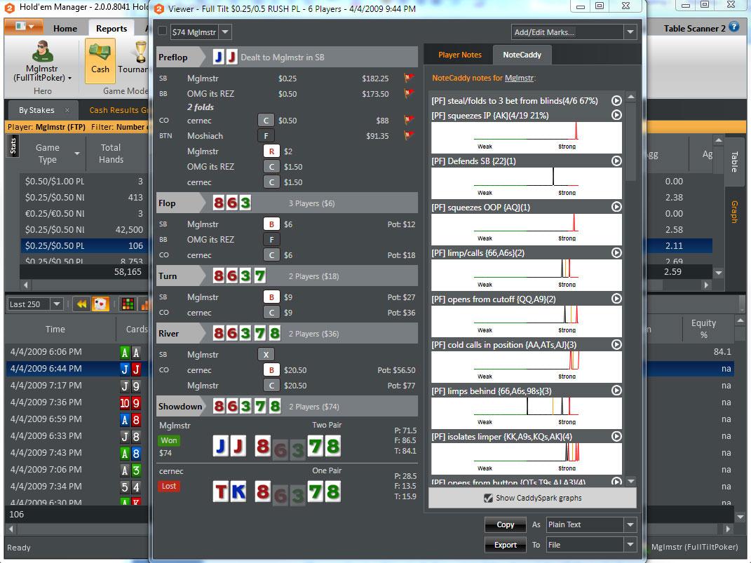 Hold'em Manager 2 Poker Software