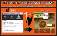 AUTOMATIC TIME BANK CLICKING