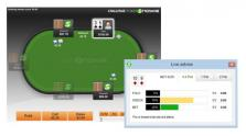 Play against PokerSnowie and get instant feedback